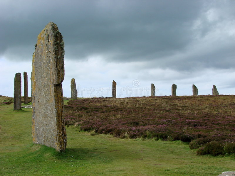 Boucle de Brodgar images stock