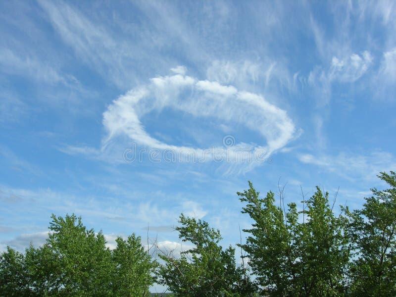 Boucle de ciel image libre de droits