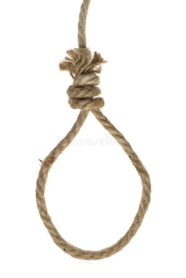 Boucle de corde photos libres de droits