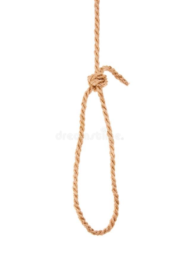 Boucle de corde photos stock