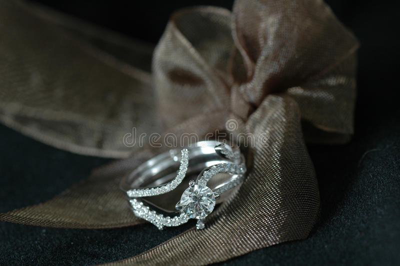 Boucle de diamant photo stock