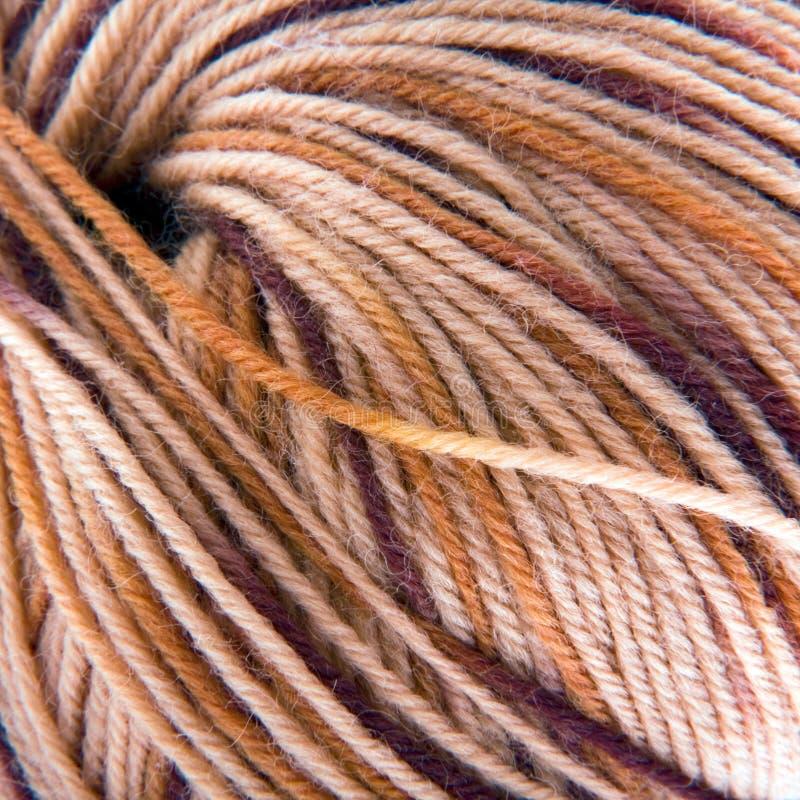 Boucle de filé de laine photos stock
