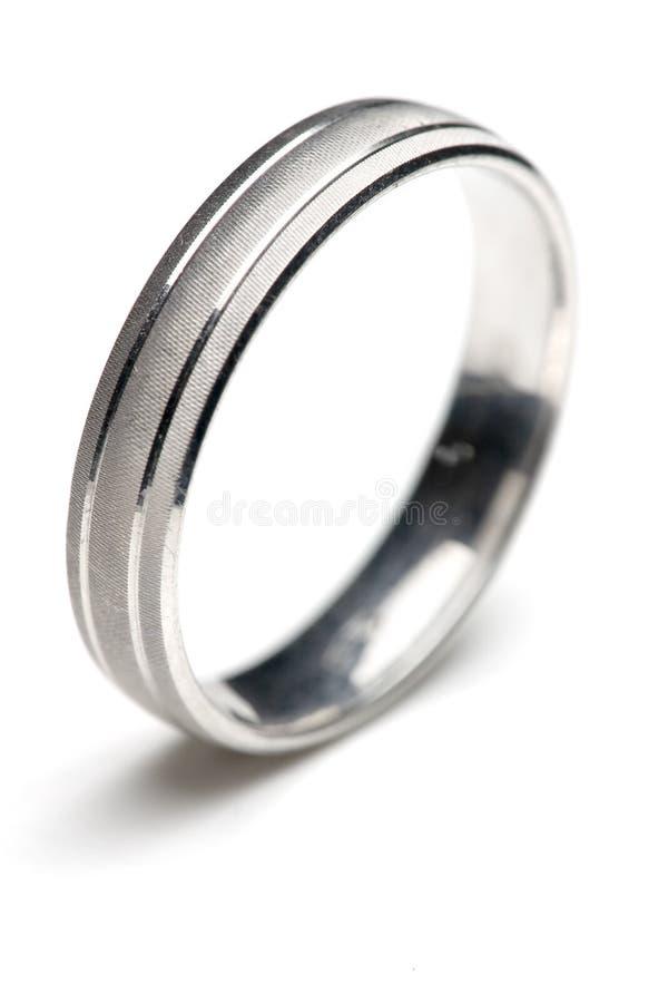 Boucle de mariage image libre de droits