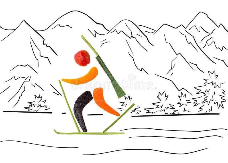 Boucle de pénalité. illustration stock