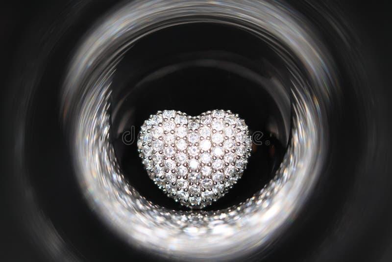 Boucle en forme de coeur image libre de droits