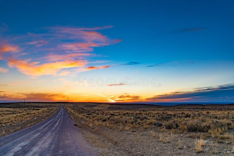 Boucle scénique de cheval sauvage, Wyoming photo stock