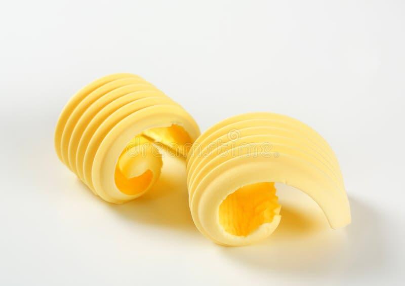 Boucles de beurre photos libres de droits