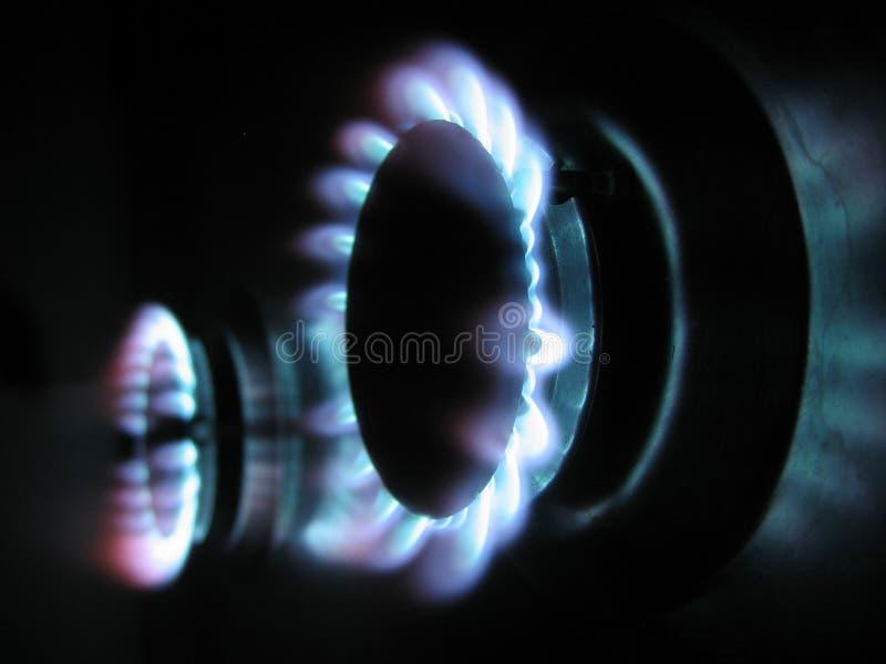 Boucles de gaz 2 image libre de droits