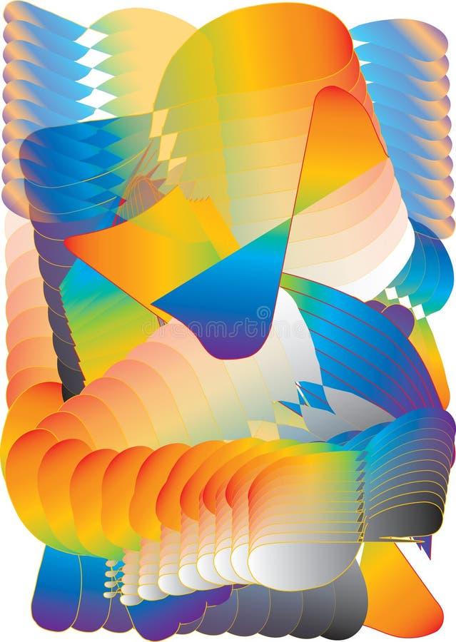 boucles de gradient illustration stock