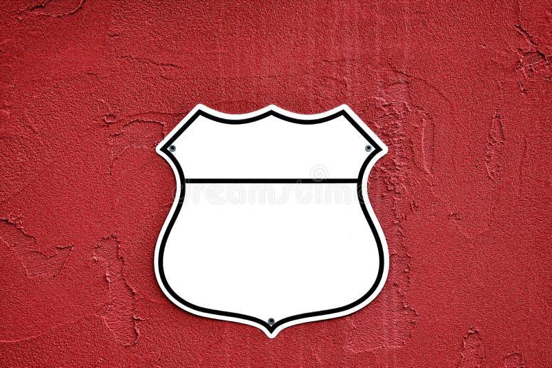 Bouclier américain de route d'autoroute nationale photo libre de droits