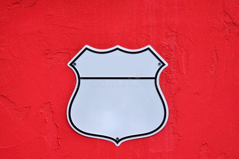 Bouclier américain de route d'autoroute nationale images stock