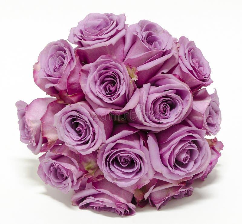 Boucquet de rose de pourpre photo libre de droits