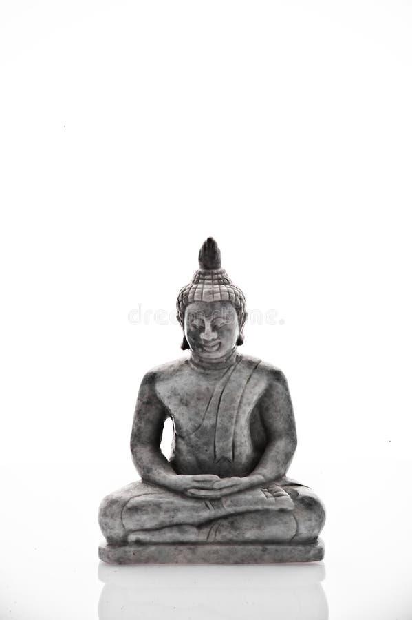 Bouddha énervé Méditant Photos stock