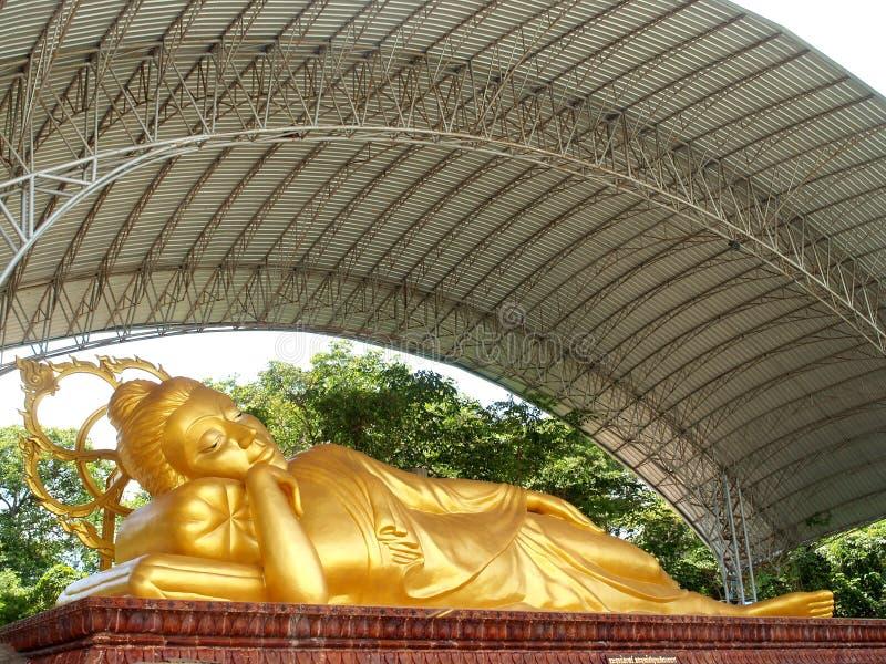 Bouddha Amnat Charoen, Thaïlande photographie stock