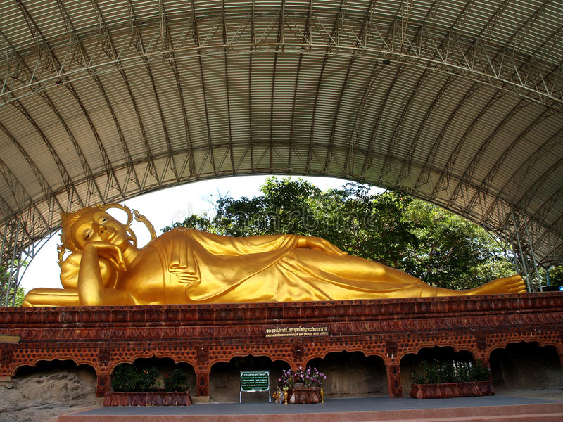 Bouddha Amnat Charoen, Thaïlande photo libre de droits