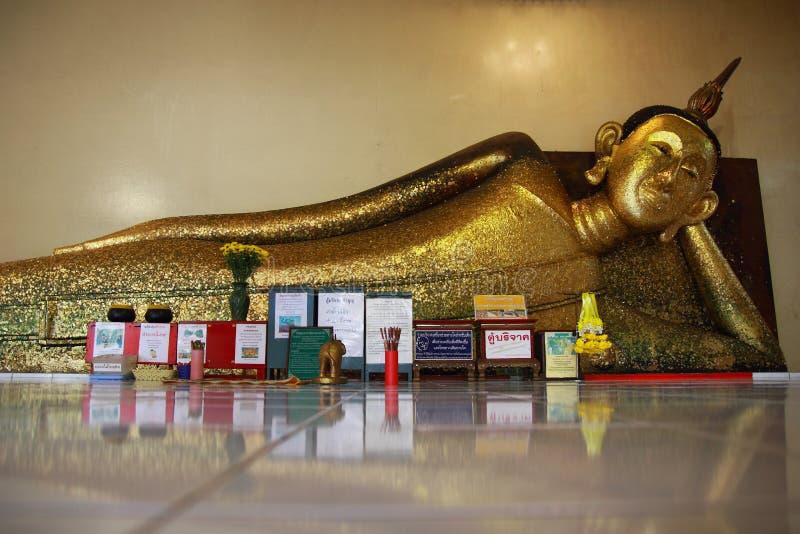 Bouddha au pradu Rayong de PA de Wat photo libre de droits