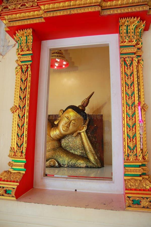 Bouddha au pradu Rayong de PA de Wat images stock