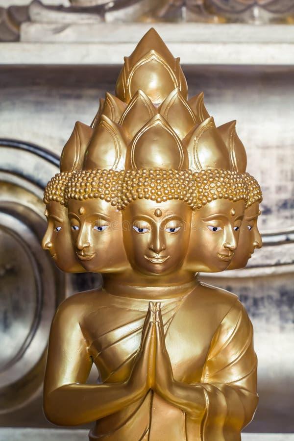 Bouddha, Ayutthaya invisible de la Thaïlande photo libre de droits