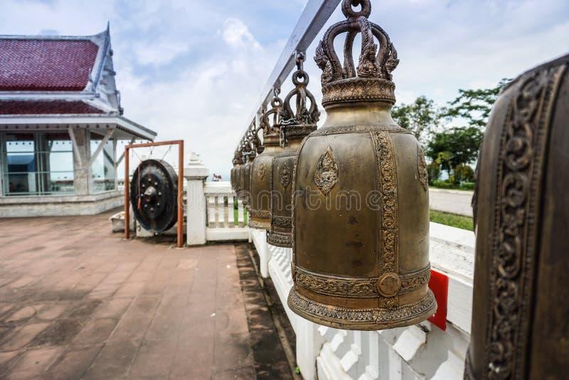 Bouddha Bell dans le temple image libre de droits