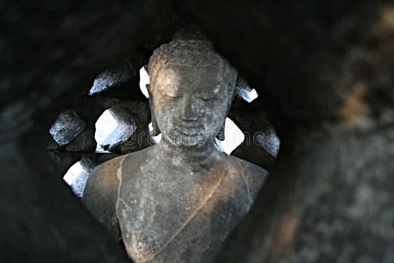 Bouddha caché image libre de droits
