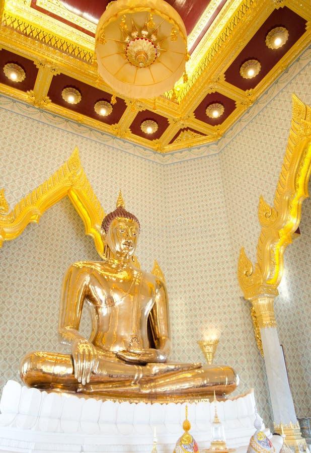 Bouddha d'or, or massif - Thaïlande photographie stock libre de droits