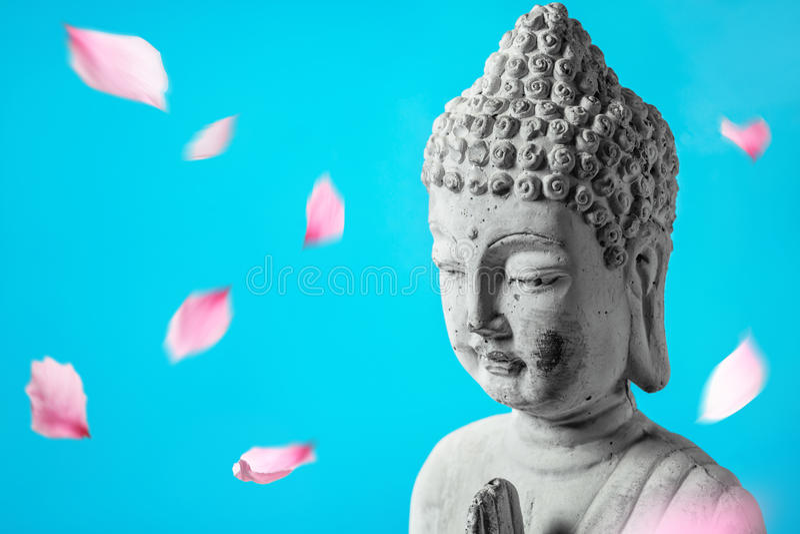 Bouddha dans la méditation photos libres de droits