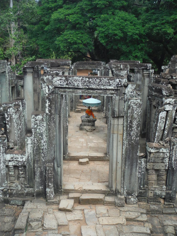 Bouddha dans Siem Reap photographie stock