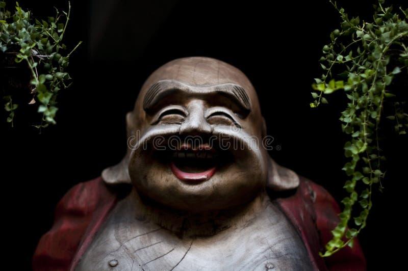 Bouddha de sourire photographie stock libre de droits
