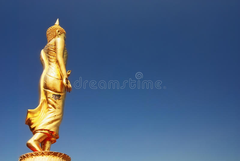 Bouddha debout photographie stock