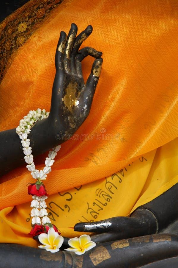 Bouddha effectuant le signe EN BON ÉTAT photo libre de droits
