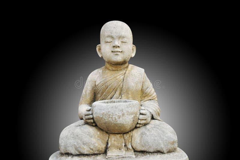 Bouddha effectuent la méditation photos stock