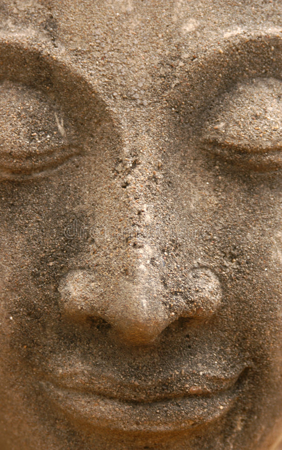 Bouddha en pierre photos libres de droits