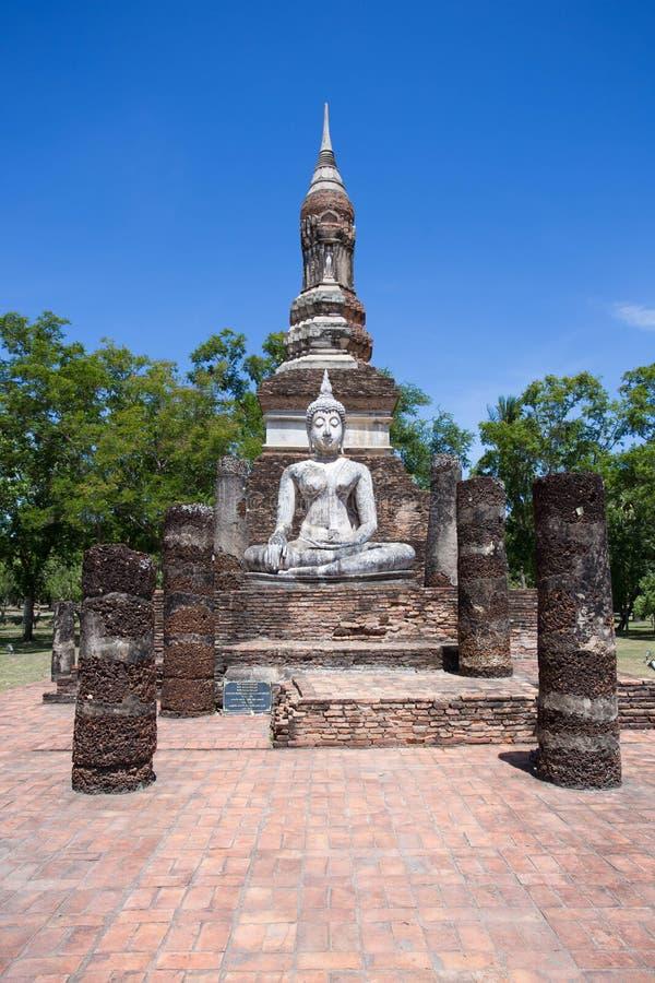 Bouddha en Wat Mahathat photo libre de droits
