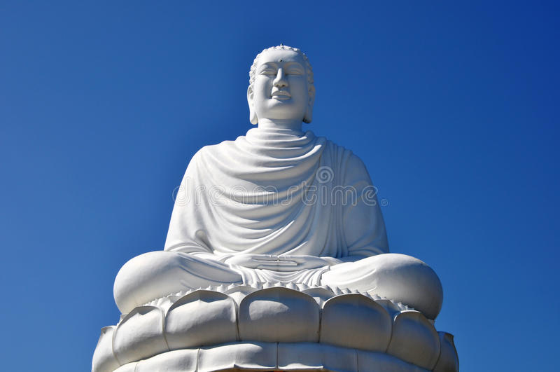 Bouddha géant image stock