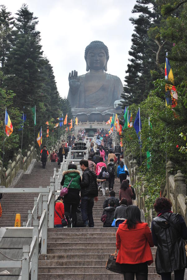 Bouddha géant image libre de droits