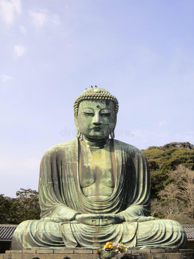Bouddha grand de Kamakura images stock