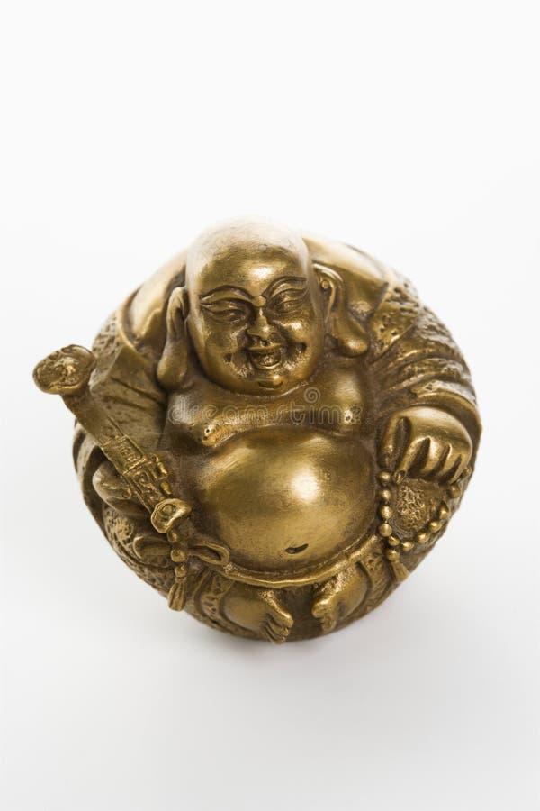 Bouddha heureux. photo stock