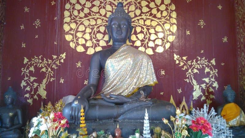 Bouddha noir photos libres de droits