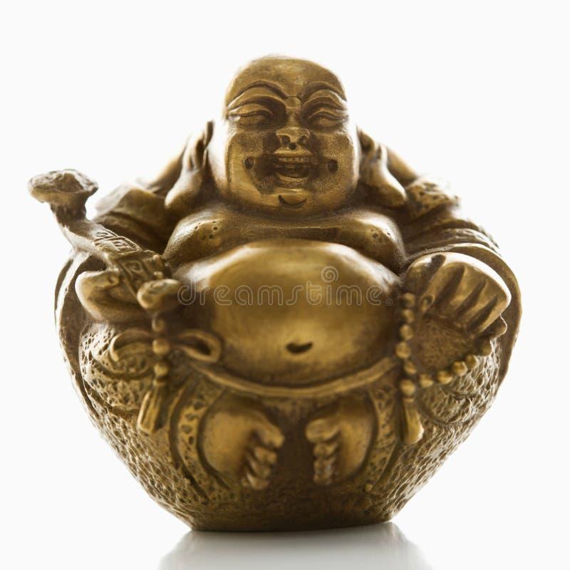 Bouddha rond. image stock