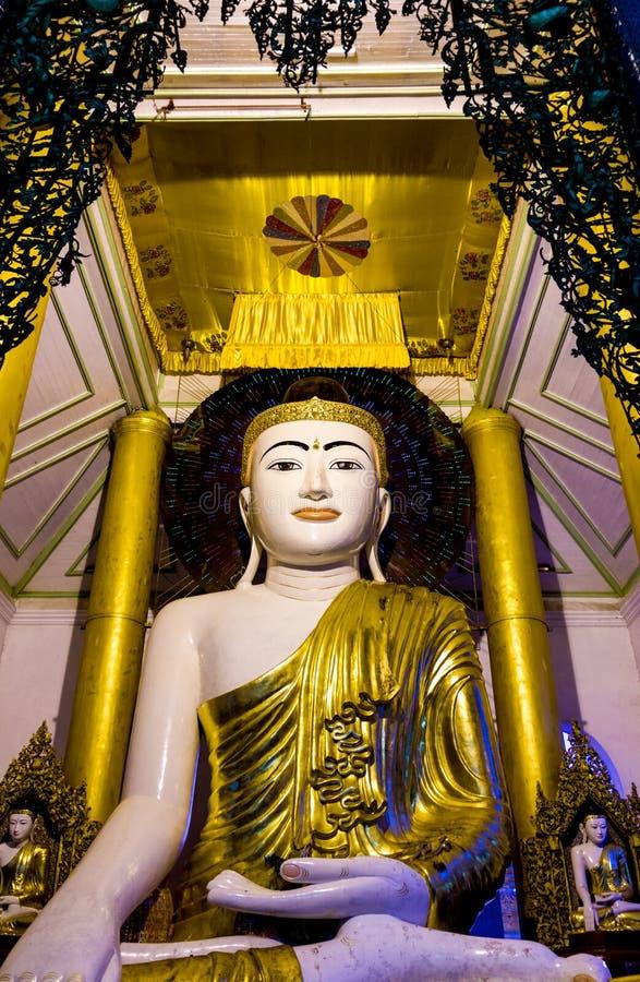 Bouddha sur le néon photos stock
