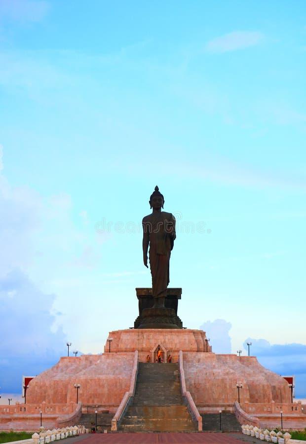 Bouddha sur Lotus photographie stock libre de droits
