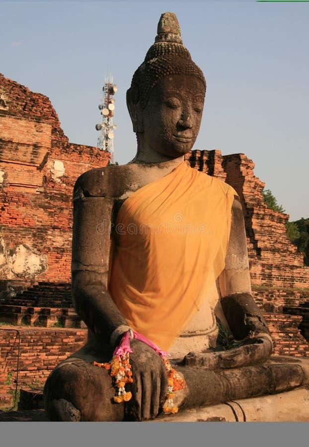 Bouddhisme de Budda en Thaïlande image libre de droits