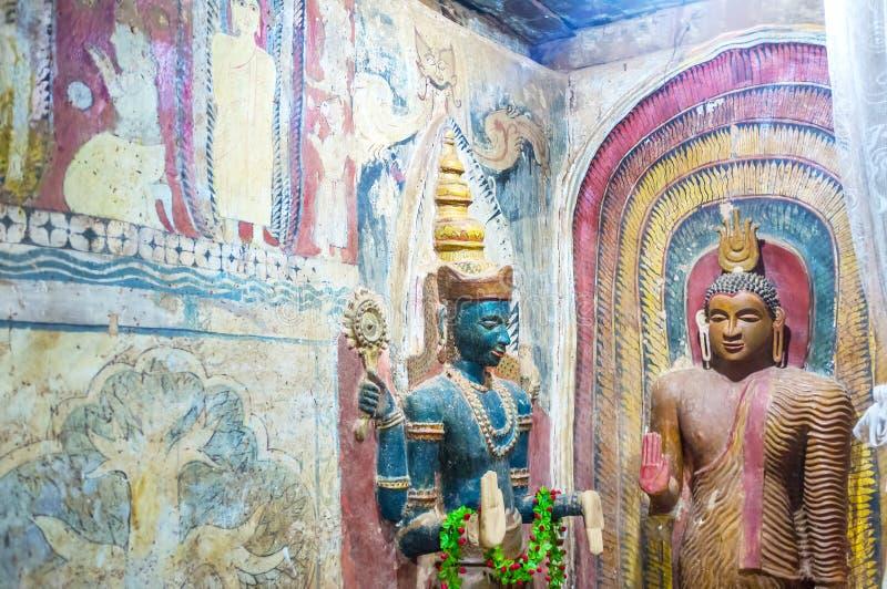 Bouddhisme et hindouisme dans Sri Lanka photographie stock