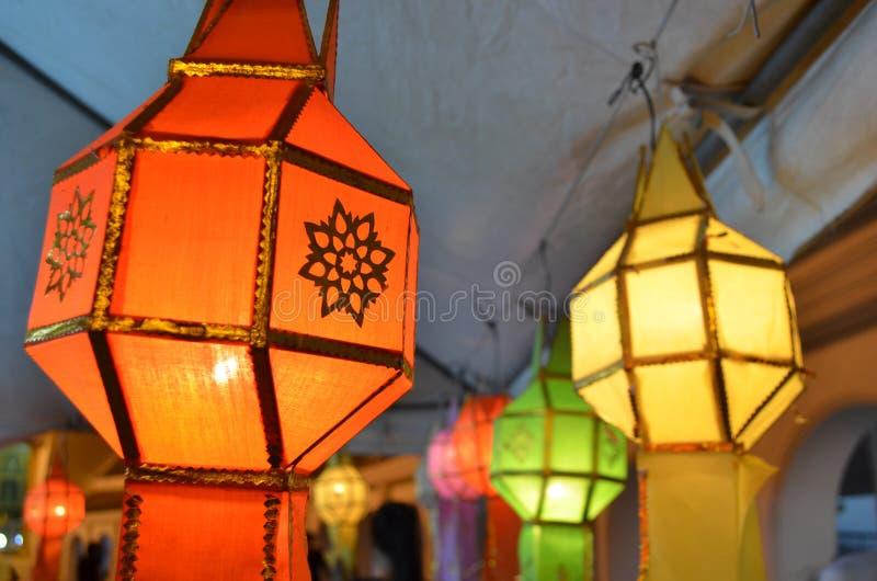 Bouddhiste de lanterne photographie stock