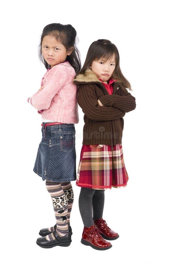 bouder de filles photographie stock libre de droits