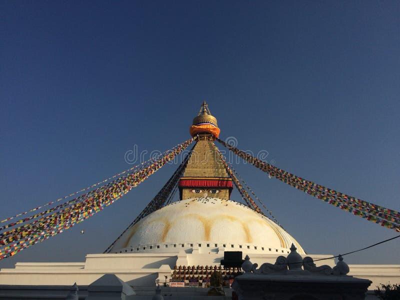 Boudha stupa stock photography