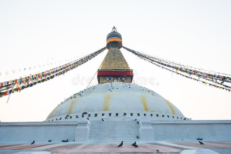 Boudhanath-stupa lizenzfreie stockbilder
