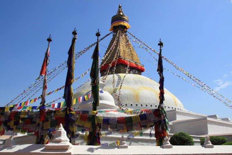 Boudhanath Stupa au Népal images stock