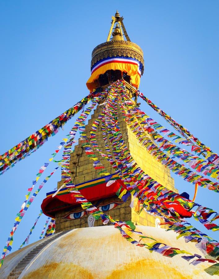 Free Boudhanath Stupa In Kathmandu, Nepal Stock Photography - 53748372