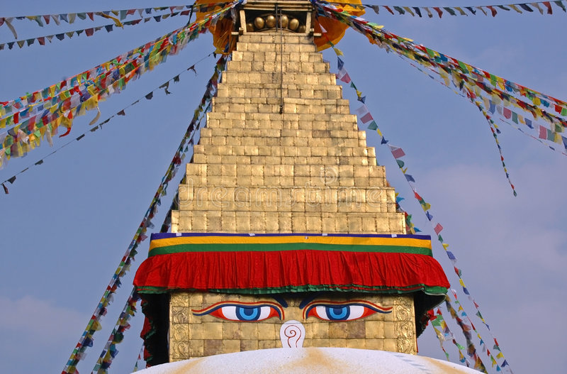 Download Boudhanath Stupa, Kathmandu Stock Photo - Image: 8520550